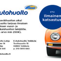 Autohuolto + katsastus